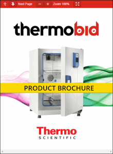 Thermo Scientific Heratherm Advanced Protocol Microbiological Incubators Product Brochure