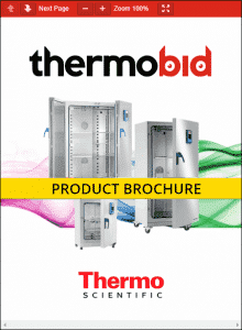 Thermo Scientific Heratherm Advanced Protocol Security Incubators Product Brochure