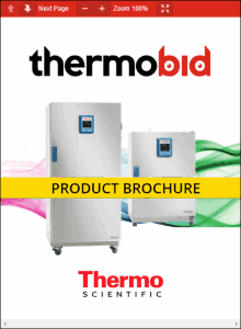 Thermo Scientific Heratherm Refrigerated Incubators Product Brochure