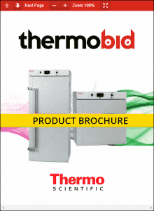 Thermo Scientific Peltier Cooled Incubators Product Brochure