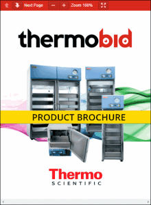 Thermo Scientific Revco Blood Bank Refrigerators Product Brochure