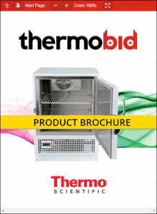 Thermo Scientific General-Purpose Undercounter Refrigerators Product Brochure