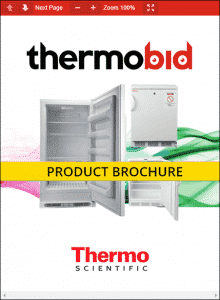 Thermo Scientific Value Lab Refrigerators Product Brochure