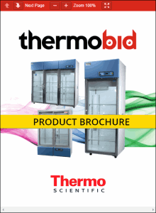 Thermo Scientific Revco High-Performance Chromatography Refrigerators Product Brochure