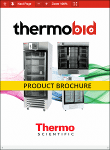 Thermo Scientific General Purpose GP Series Chromatography Refrigerators Product Brochure