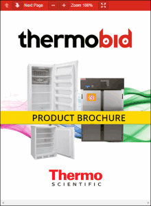 Thermo Scientific Flammable-Materials Storage Refrigerators Product Brochure
