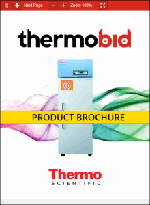 Thermo Scientific Revco FMS High-Performance Lab Refrigerators Product Brochure
