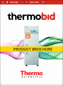 Thermo Scientific TSHP Series FMS High-Performance Lab Refrigerators Product Brochure
