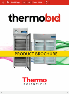 Thermo Scientific TSX Series High-Performance Blood Bank Refrigerators Product Brochure