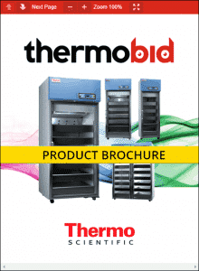 Thermo Scientific Revco Pharmacy Refrigerators Product Brochure