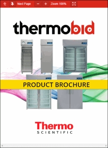 Thermo Scientific TSX Series High-Performance Lab Refrigerators Product Brochure