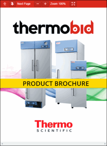 Thermo Scientific Revco High-Performance Lab Freezers Product Brochure