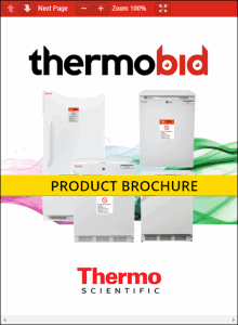 Thermo Scientific Value Lab Upright Freezers Product Brochure