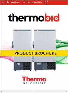 Thermo Scientific Revco DxF -40°C Upright Ultra-Low Temperature Freezers Product Brochure