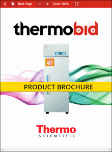 Thermo Scientific TSHP FMS High-Performance Laboratory Freezers Product Brochure