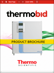 Thermo Scientific Heracell 240i Copper Chamber CO2 Incubators Product Brochure