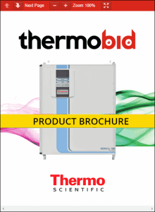 Thermo Scientific Heracell 150i Stainless Steel Chamber CO2 Incubators Product Brochure