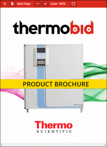 Thermo Scientific Heracell 240i Tri-Gas Stainless Steel Chamber CO2 Incubators Product Brochure