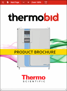 Thermo Scientific Heracell 150i Tri-Gas Stainless Steel Chamber CO2 Incubators Product Brochure
