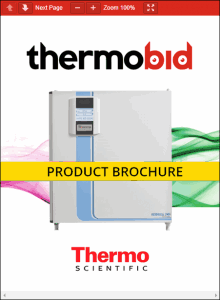 Thermo Scientific Heracell 240i Large Capacity Stainless Steel Chamber CO2 Incubators Product Brochure