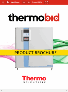 Thermo Scientific Heracell 240i Large Capacity Copper Chamber CO2 Incubators Product Brochure
