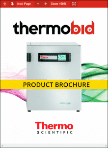 Thermo Scientific Heracell VIOS 250i Large Capacity Stainless Steel Chamber CO2 Incubators Product Brochure