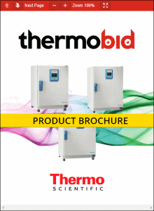Thermo Scientific Heratherm Advanced Protocol Security Ovens Product Brochure