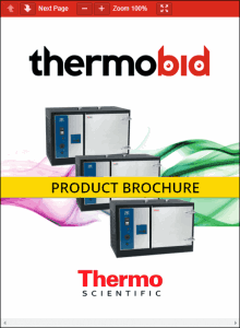 Thermo Scientific Precision High-Performance Ovens Product Brochure