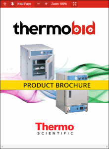 Thermo Scientific Lindberg/Blue M Vacuum Ovens Product Brochure