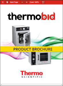 Thermo Scientific Lab-Line Vacuum Ovens Product Brochure