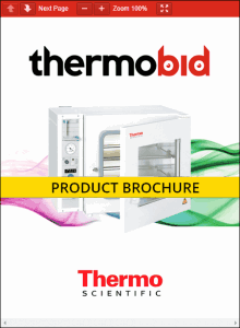 Thermo Scientific Vacutherm Vacuum Heating & Drying Ovens Product Brochure
