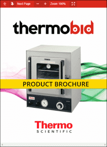 Thermo Scientific Lab-Line Hi-Temp Vacuum Ovens Product Brochure
