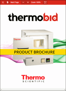 Thermo Scientific Lindberg/Blue M 1700°C Box Furnace Product Brochure Product Brochure