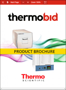 Thermo Scientific Lindberg/Blue M Multipurpose 1500°C Box Furnace Product Brochure Product Brochure