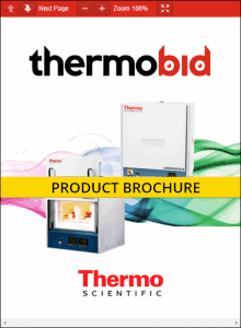 Thermo Scientific Lindberg/Blue M LGO Box Furnace Product Brochure Product Brochure