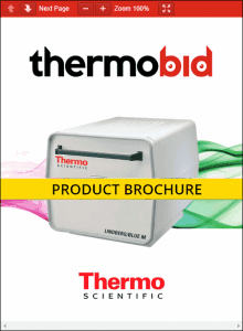 Thermo Scientific Lindberg/Blue M Heavy-Duty 1200°C Box Furnace Product Brochure Product Brochure