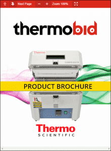Thermo Scientific Lindberg/Blue M Mini-Mite Tube Furnace Product Brochure