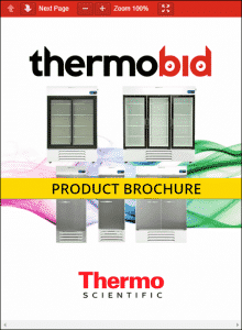 Thermo Scientific TSG Series General Purpose Laboratory Refrigerators Product Brochure