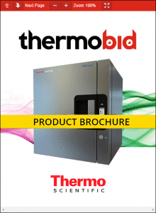 Thermo Scientific TSG Series Countertop Refrigerators Product Brochure
