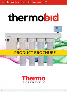 Thermo Scientific Barnstead E-Pure Ultrapure Water Purification Systems Product Brochure
