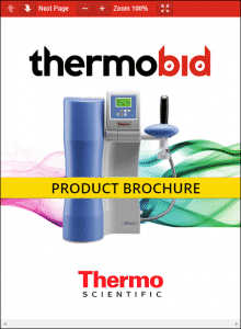 Thermo Scientific Barnstead GenPure Pro Water Purification Systems Product Brochure