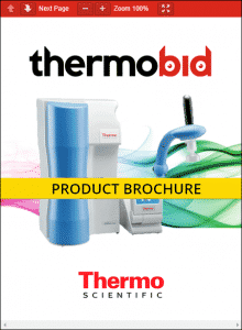 Thermo Scientific Barnstead GenPure xCAD Plus Ultrapure Water Purification Systems Product Brochure