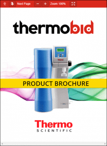Thermo Scientific Barnstead GenPure Water Purification Systems Product Brochure