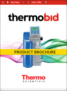 Thermo Scientific Barnstead MicroPure Water Purification Systems Product Brochure