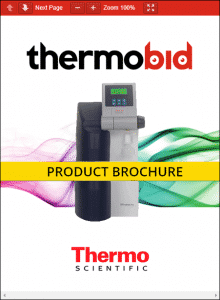 Thermo Scientific Barnstead Smart2Pure Pro Water Purification Systems Product Brochure