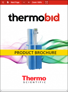 Thermo Scientific Barnstead LabTower TII Water Purification Systems Product Brochure