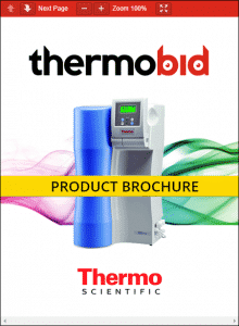 Thermo Scientific Barnstead Pacific TII Water Purification Systems Product Brochure