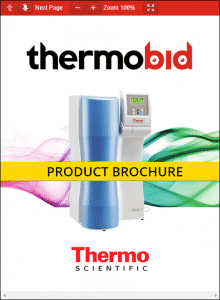 Thermo Scientific Barnstead Pacific RO Water Purification Systems Product Brochure