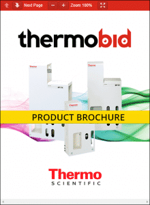 Thermo Scientific Barnstead MegaPure Glass Stills Product Brochure