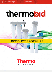 Thermo Scientific B-Pure Water Purification Systems Product Brochure